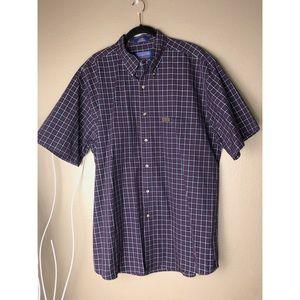 PENDLETON | Cotton Plaid Button Shirt Sleeve Shirt